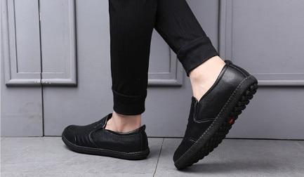 Мужская Мода чистая обувь Повседневное Для мужчин обувь полет сплетенный дышащая модная  ...