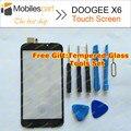 Doogee x6 pantalla táctil 100% pantalla táctil de reemplazo del panel digitalizador para doogee x6 teléfono original en el envío libre