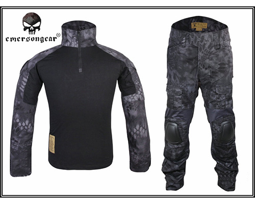 Emerson G2 Typhon Genuine Hunting Uniform Airsoft Combat Tactical Military BDU Shirt & Pants Sets Typhon Color New Arrival emersongear g3 combat t shirt military bdu army airsoft tactical gear paintball hunting shirt em8586 typhon emerson