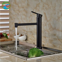Single Lever Mixer Taps One Hole Hot Cold Water Kitchen Faucet Oil Rubbed Bronze Finished