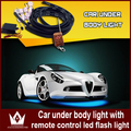 Night Lord IP68 Waterproof 90*120 Colorful led under car light RGB Chip Auto chassis light kit with remote control Free shipping