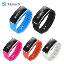 Teamyo спорт смарт браслет v5s oled-дисплей вызовов напоминание антил-потерянный сон монитор фитнес-трекер smartband
