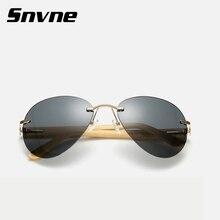 Snvne gafas de Sol de Bambú de madera gafas de sol para mujeres de los hombres gafas de sol oculos lunette de soleil feminino hombre masculino KK454