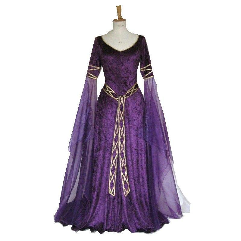 Popular Purple Renaissance Dress-Buy Cheap Purple Renaissance ...