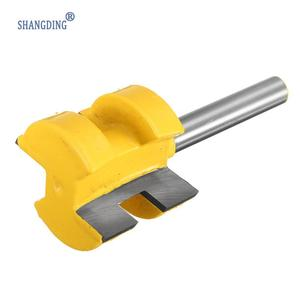 "Image 5 - 2Pcs/Set 1/4 Inch Shank Tongue Groove Router Bit +1/4"" Shank Groove router bit Wood Woodworking Cutting Tools"