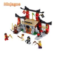 Lepin Showdown Jouet De Construction Ninjagoe Thunder Swordsman Building Blocks Bricks Toys Compatible Decool Compatible Legoe
