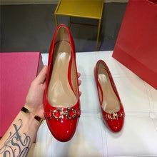 Женские туфли лодочки mary jane на низком каблуке шпильке из