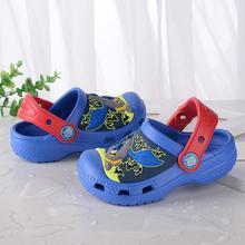 Kids Beach Sandals with Batman 3D print
