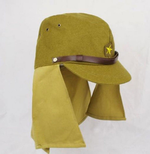 10f8d7f6872 WWII IMPERIAL JAPANESE ARMY SOLDIER MILITARY HAT CAP SIZE L-in ...
