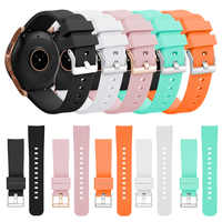 20mm Sports Silicone Band For Samsung Galaxy Watch SM-R810 42MM & Gear 4 3 2 Strap For Huami Amazfit Bip/Amazfit 2 Smart Watch