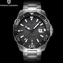 Pagani Дизайн Топ люксовый бренд Мужская механические часы классические серии Дайвинг Водонепроницаемый часы мужские спортивные часы Relogio Masculino