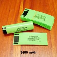 100 шт/лот литиевая батарея специальная термоусадочная трубка