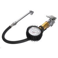 Tyre Pressure Inflator Car Air Compressor Gauge Dial Airline Truck Motorbike