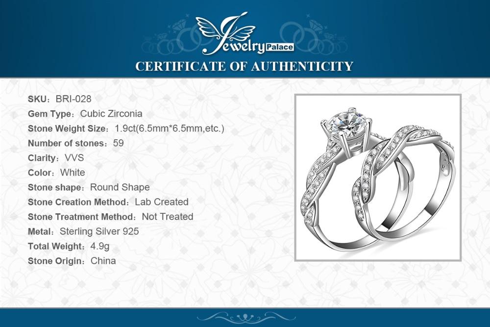 SmykkerPalace Infinity 1.5ct Simuleret Diamond Anniversary Promise - Smykker - Foto 6