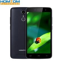 Homtom HT17 5.5 pouce 4G Téléphone MTK6737 Quad Core 1 GB RAM 8 GB ROM HD Écran Caméras Capteur D'empreintes Digitales HotKnot Mobile téléphone