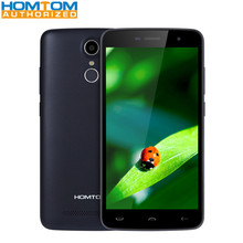 Homtom MTK6737 HT17 5.5 pulgadas 4G Teléfono Quad Core 1 GB RAM 8 GB Pantalla ROM HD Cámaras de Sensor de Huellas Dactilares HotKnot Móvil teléfono
