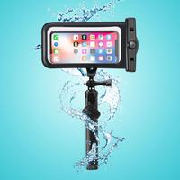 Mountdog Waterproof Phone Case Cover Bag With Remote Control Wireless Bluetooth Extended Selfie Stick Tripod For Phone Monopod