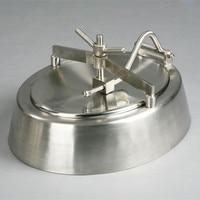 Санитарный 22 дюйма. x18in. Елиптический теневой крышки люка из нержавеющей стали EPDM/кремния