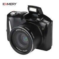 Komery Original Digital Kamera 3,5 zoll IPS LCD 2400 w Pixel 4X Digital Zoom HD Hohe Qualität digital video kamera 3-jahr garantie