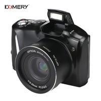 Komery Original Digital Camera 3.5 inch IPS LCD 2400w Pixel 4X Digital Zoom HD High Quality digital video camera 3 year warranty