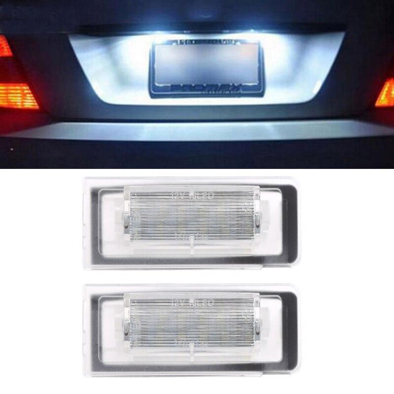 HNGCHOIGE 1 Pair 18 LED License Plate Light Number Lamp For Audi Roadster 8N TT Coupe 8N3 White Light 6000K модель автомобиля 1 18 motormax audi tt coupe