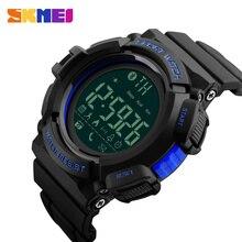 Men Bluetooth Smart Watches SKMEI Men's Watch Pedometer Calories Chronograph Sports Watch Call Message Reminder Smartwatch