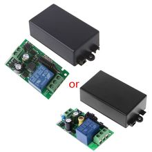 AC 220V 1CH RF 433MHz Wireless Remote Control Switch Module Learning Code Relay