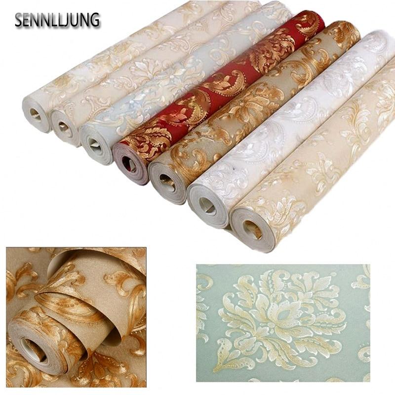 1 volume/Stuk 10 M zelfklevend Behang PVC Waterdicht Muurstickers Meubels Vinyl Decoratieve Film Kast Thuis decoratie