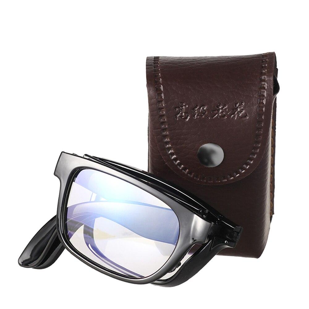 + 1,00 ~ + 4,0 Unisex en caja portátil inteligente enfoque automático gafas de lectura plegables Ultra ligeras gafas de aumento de la visión de cuidado Nuevas gafas de seguridad transparentes a prueba de polvo anteojos de trabajo laboratorio Dental gafas protectoras contra salpicaduras gafas antiviento