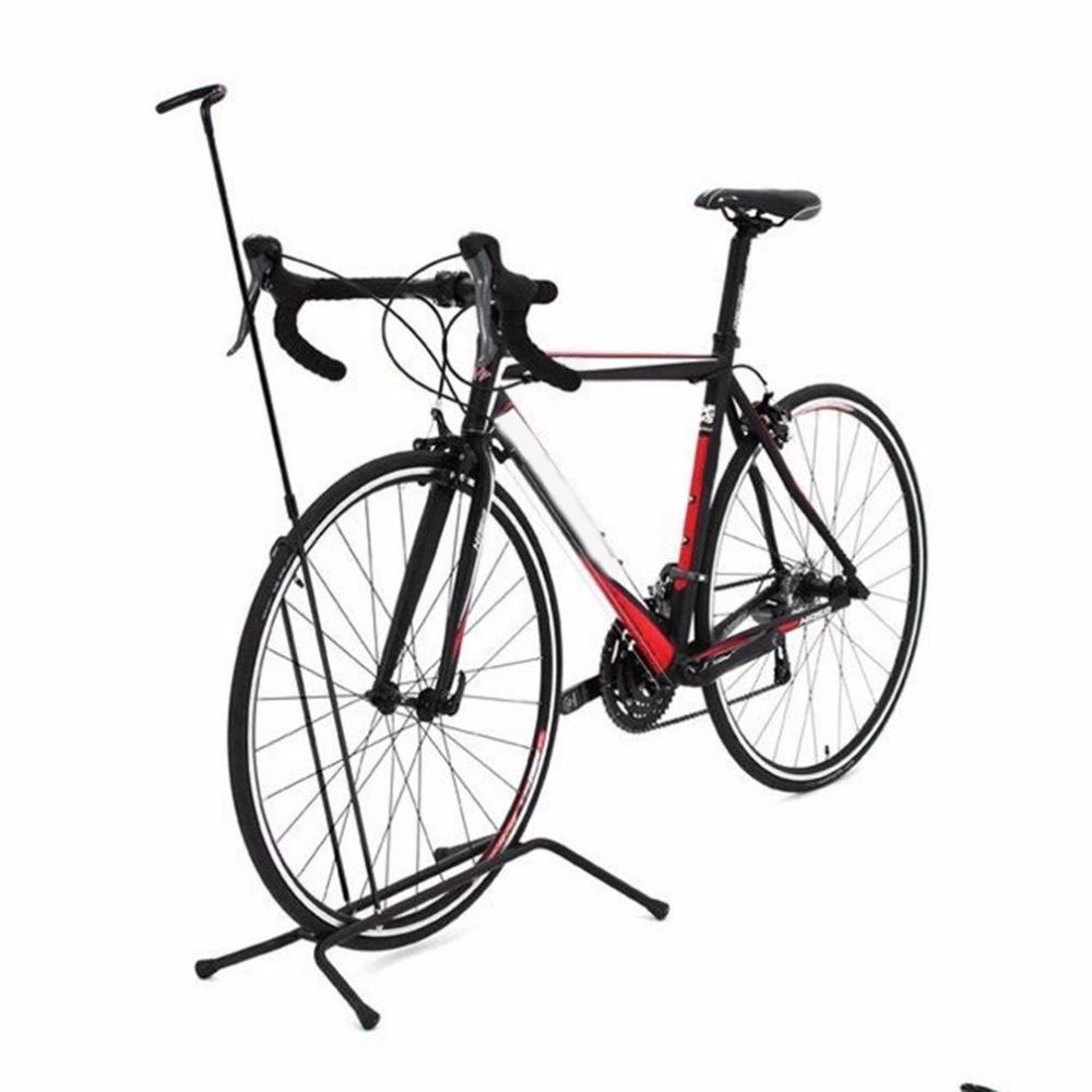 Aleación de aluminio antideslizante carretera montaña bicicleta estante bastidores verticales ciclismo aparcamiento plegable bicicleta Stop Rack