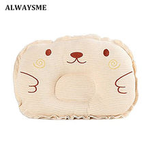 ALWAYSME Baby Pillow Newborn Baby Support Cushion Pad Prevent Flat Head Shaping Pillow Infant Newborn Pillow Bedding(China)