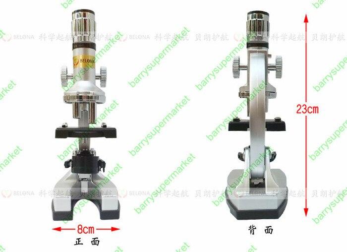 Fun Zoom Student Education Microscopio biologico 1200X con - Strumenti di misura - Fotografia 5
