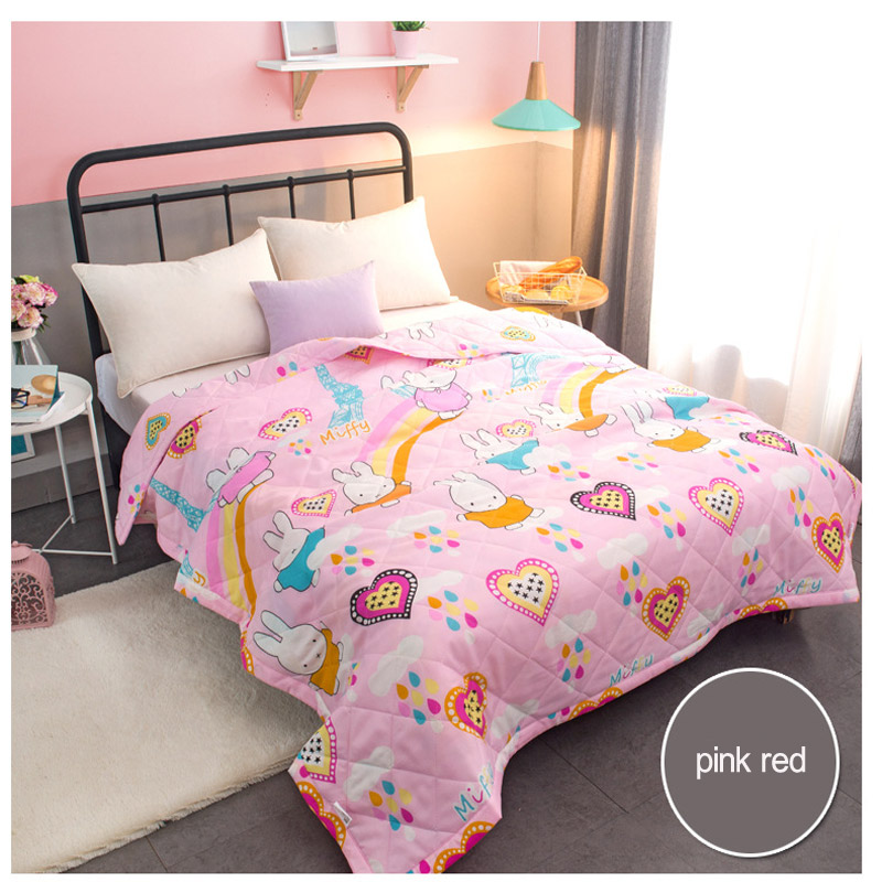 Solid Warm autumn and winter Baby Blankets Suitable for babies over two years old Children's bedding Size 150*200cm Baby quilt