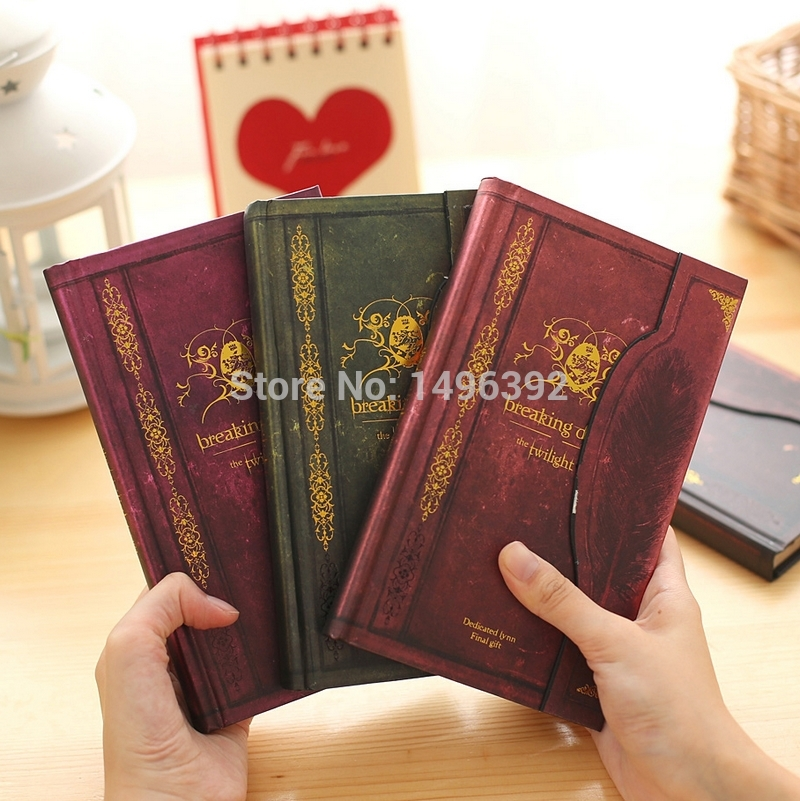 Breaking Dawn Diaries Vintage Notebook Twilight Timeless Collection Book Hardcover Notepad Diary Book powers the definitive hardcover collection vol 7