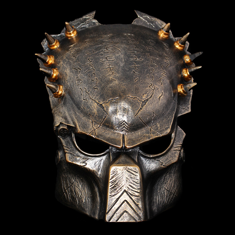 Iron warrior Masks Man Supper Alien Predator Mask Warrior Movie Prop avpr lone Wolf full face party Halloween Terror Mask new