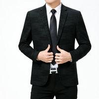 WAEOLSA Men Fashion Blazers Dark Green Red Jackets Suits Man Slim Fit Blazer Male Elegant Outfits Office Garment Print Blaser XL
