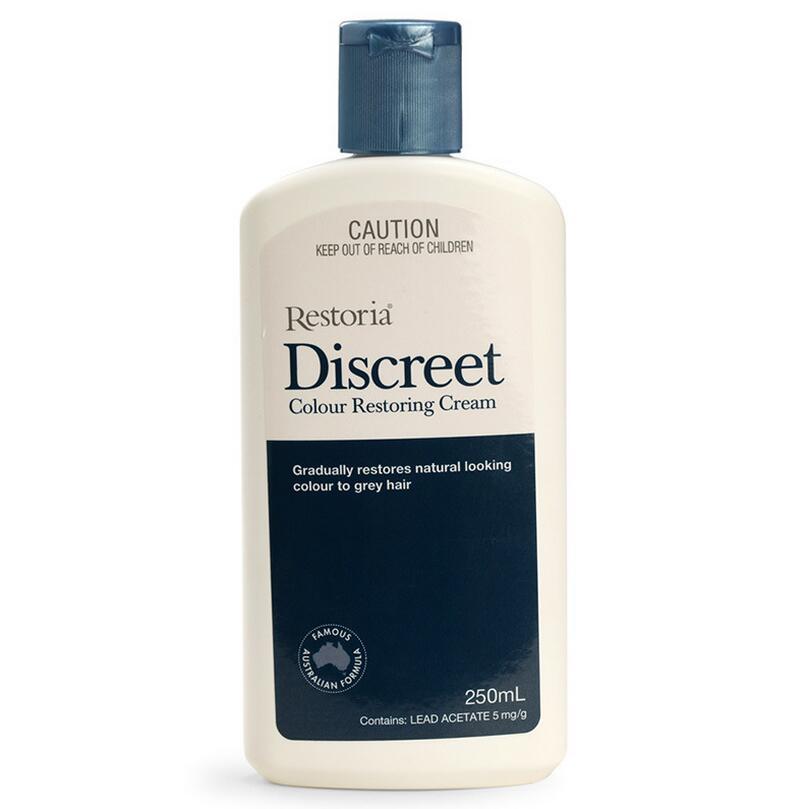 New Original Restoria Discreet Colour Restoring Cream Lotion Hair Care 250ml