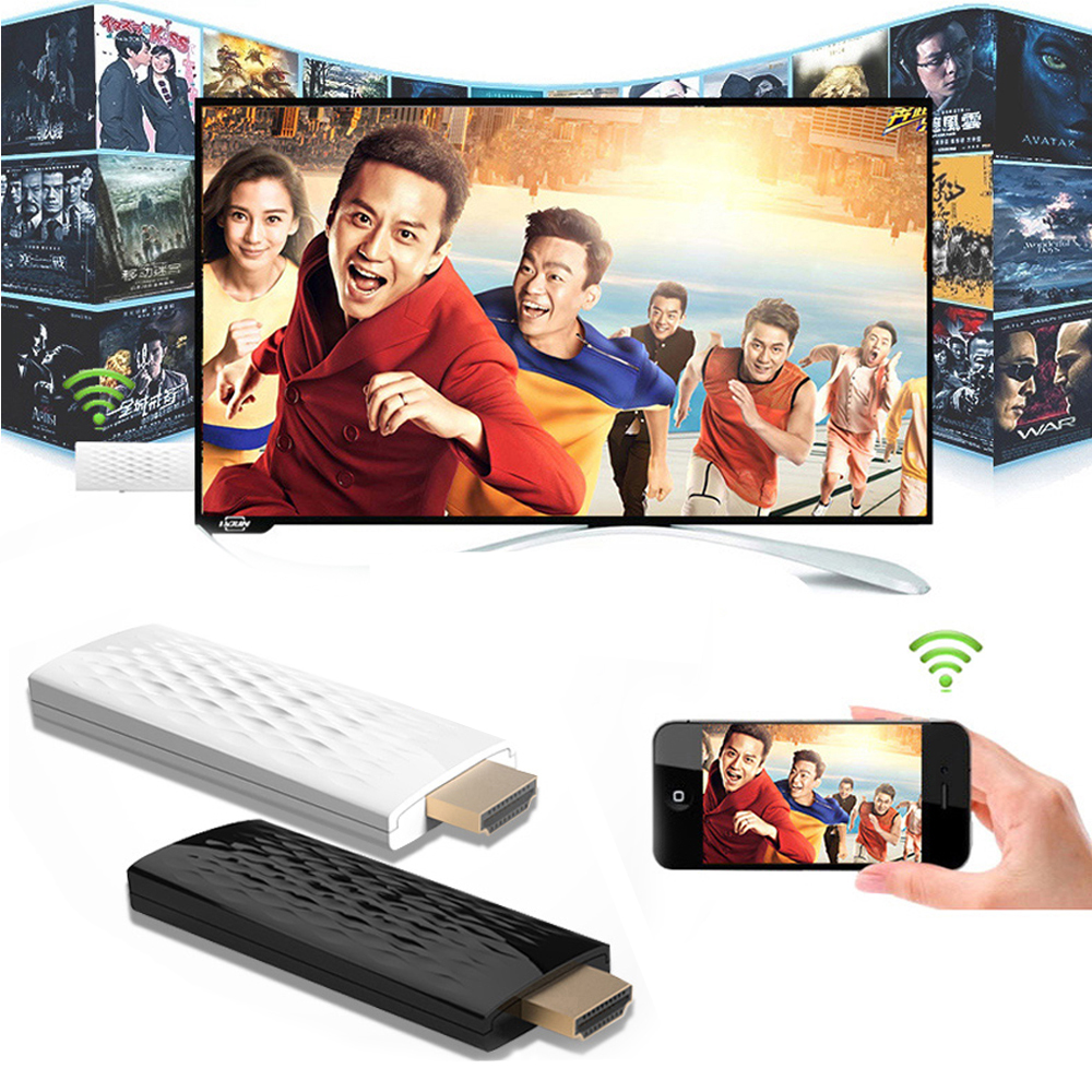 Цена за Беспроводной Wi-Fi Телефон ТЕЛЕВИЗОР HDMI Dongle Адаптер Видео для iPad Pro Воздуха iPhone 5 5S 6 6 S 7 Плюс Samsung galaxy s6 s7 s8, чтобы HDTV