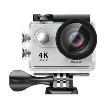 EKEN H9/H9R Ultra HD Действие Камера WI-FI 2.0 ЖК-дисплей Экран 4 К 25FPS спортивные Камера с Водонепроницаемый В виде ракушки удаленный брызг видеокамера