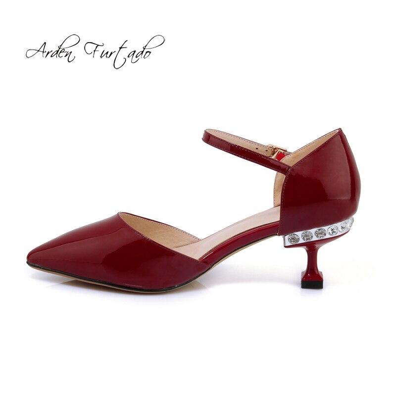 Mujer Furtado Beige burgundy Burdeos Apricot Sandalias Cm black Arden Moda Stilettos Genuino 6 2018 Verano Cuero Flores Tacones Zapatos Cristal agxwSqAdx