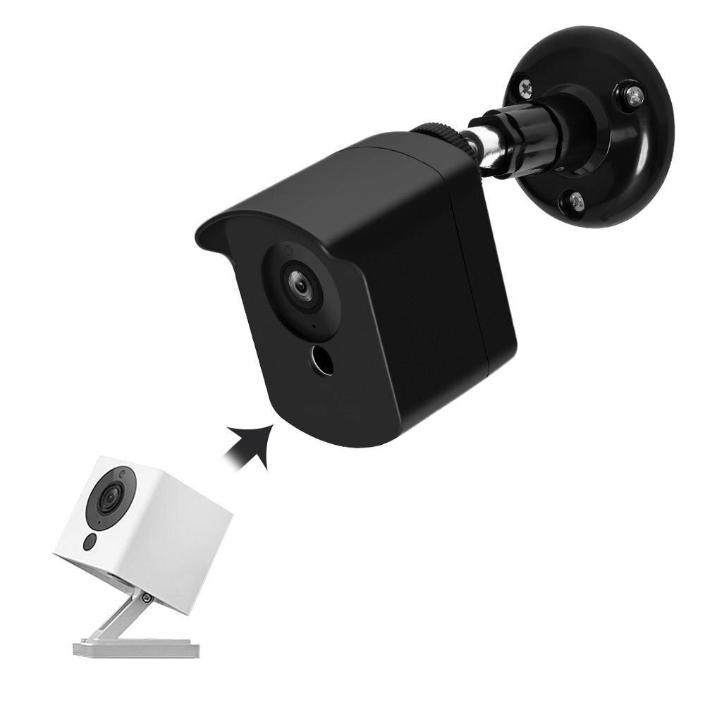 Wyze Câmera Uso Ao Ar Livre Indoor Wall Mount Bracket com Capa Protetora para Xiaomi CCTV Câmera e Wyze Xiaofang Mijia Cam 1080 p