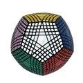 MF8 Petaminx (Preto) Brinquedos do Cubo Cubo Mágico de Plástico Puzzle Brinquedos Especiais 9x9x9 Mágico Educacional idéia Do Presente Do brinquedo Frete Grátis