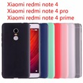 Xiaomi redmi note 4 case xiaomi redmi note 4 pro case capa silicone case para xiaomi redmi note 4 pro cristal e cores sólidas
