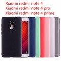Xiaomi redmi note 4 case xiaomi redmi note 4 pro case cubierta de silicona case para xiaomi redmi note 4 pro de cristal y colores sólidos