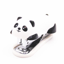 1 шт. мини панда степлер мультфильм офисные школьные принадлежности канцелярские скрепки переплет книга канализация