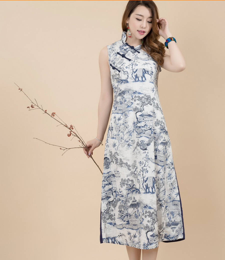 Chinese Maxi Dresses