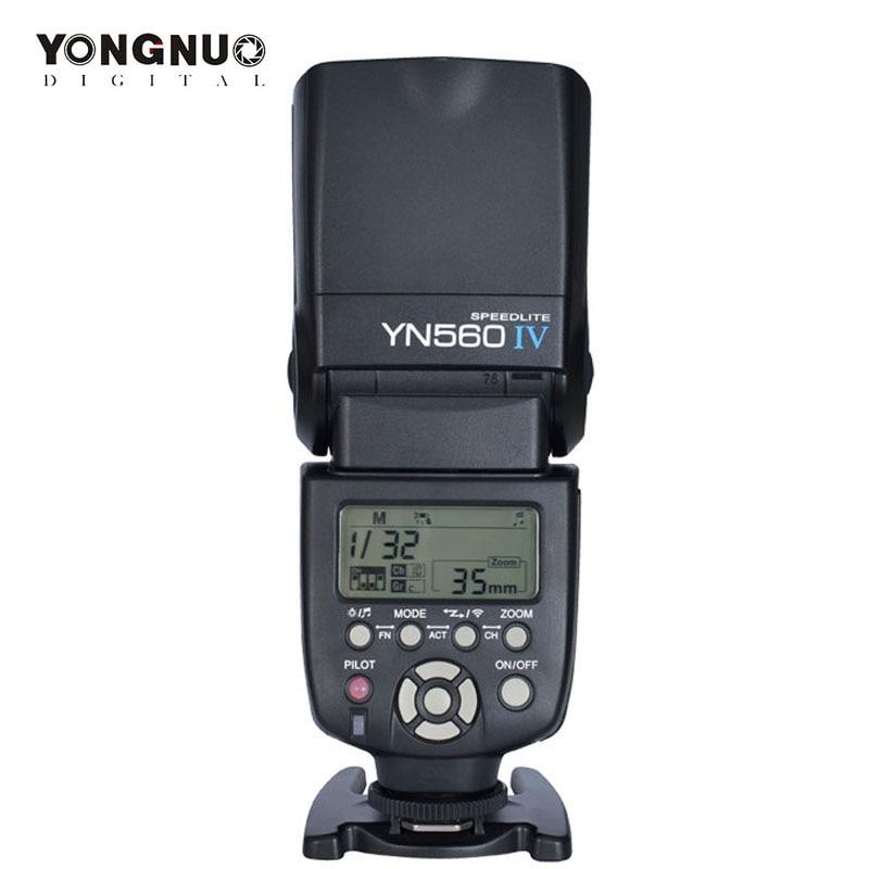 yongnuo YN 560 IV yn560iv YN-560IV 2.4G Wireless Master & Group flash Speedlite For Canon Nikon Pentax essentialap Cameras 3pcs yongnuo yn560 iv flash speedlite speedlight for canon nikon pentax olympus panasonic wireless support rf602 rf603 rf605