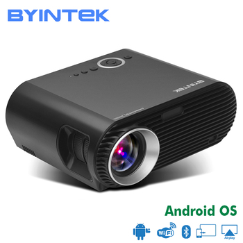 BYINTEK MOON BL127 Smart Android WIFI Movie Cinema USB HDMI fulL hD LCD LED Video Projector For Gift Home Theater 1080P