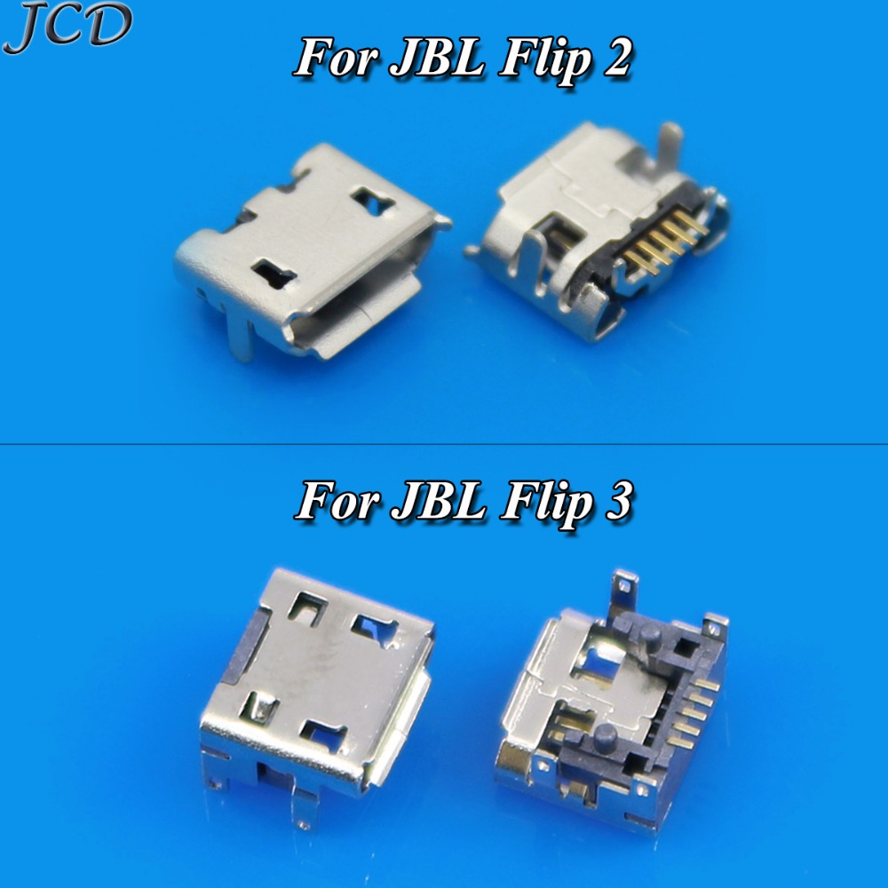 JCD For <font><b>JBL</b></font> Flip 2 Flip <font><b>3</b></font> Bluetooth <font><b>Speaker</b></font> Micro MINI USB jack socket connector replacement <font><b>repair</b></font> parts <font><b>Charging</b></font> Port Charger image