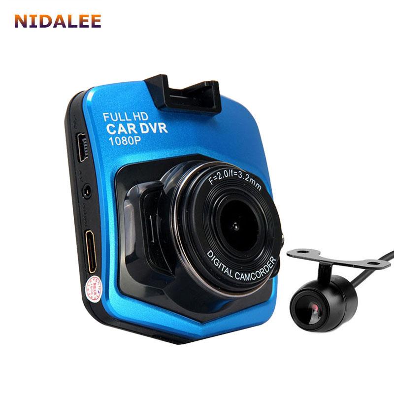Prix pour Vente chaude Double lentille Voiture DVR 1920*1080 p Enregistreur Vidéo Dvr de Vision Nocturne Dash cam Veicular Kamera G30 deux caméras